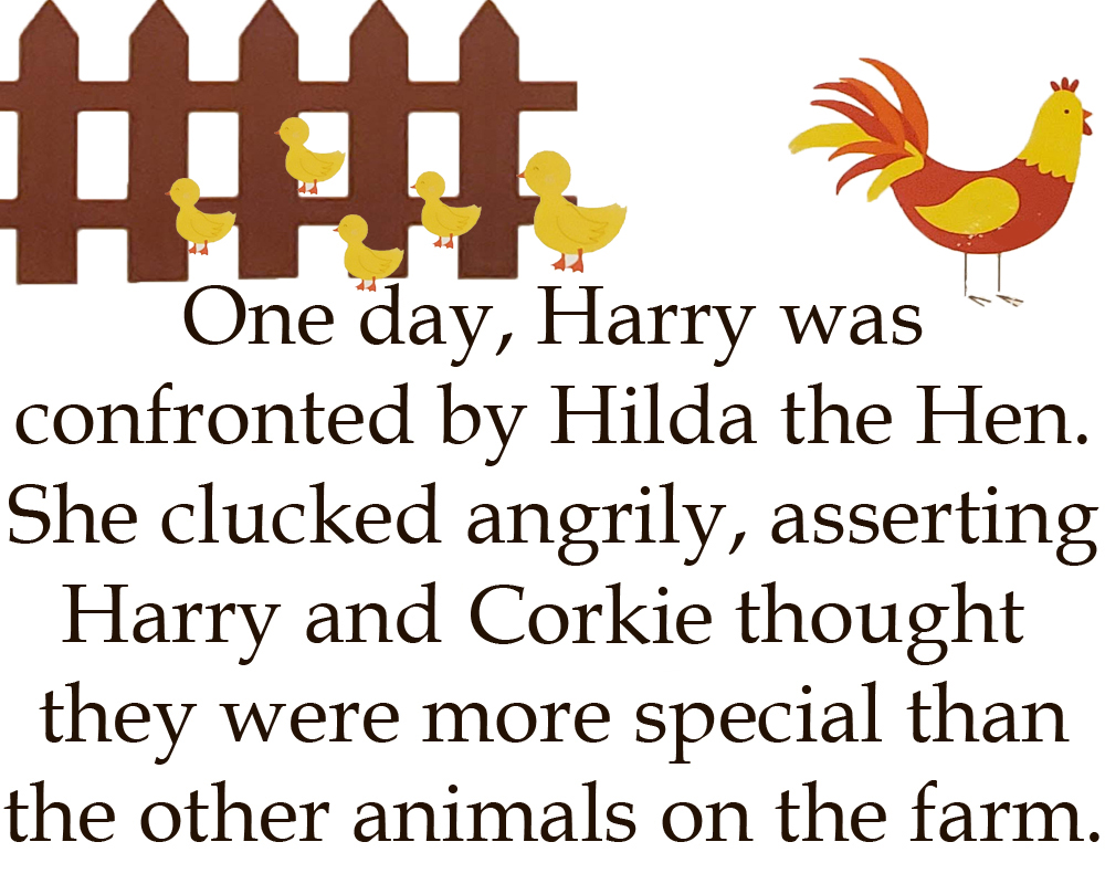 Harry the Horse Flipbook Page 8Edited